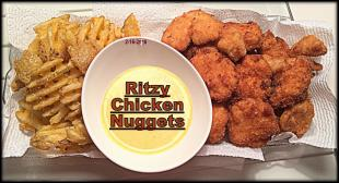 Ritzy Chicken Nuggets Recipe