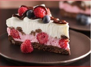 Chocolate and Berries Yogurt Dessert Recipe