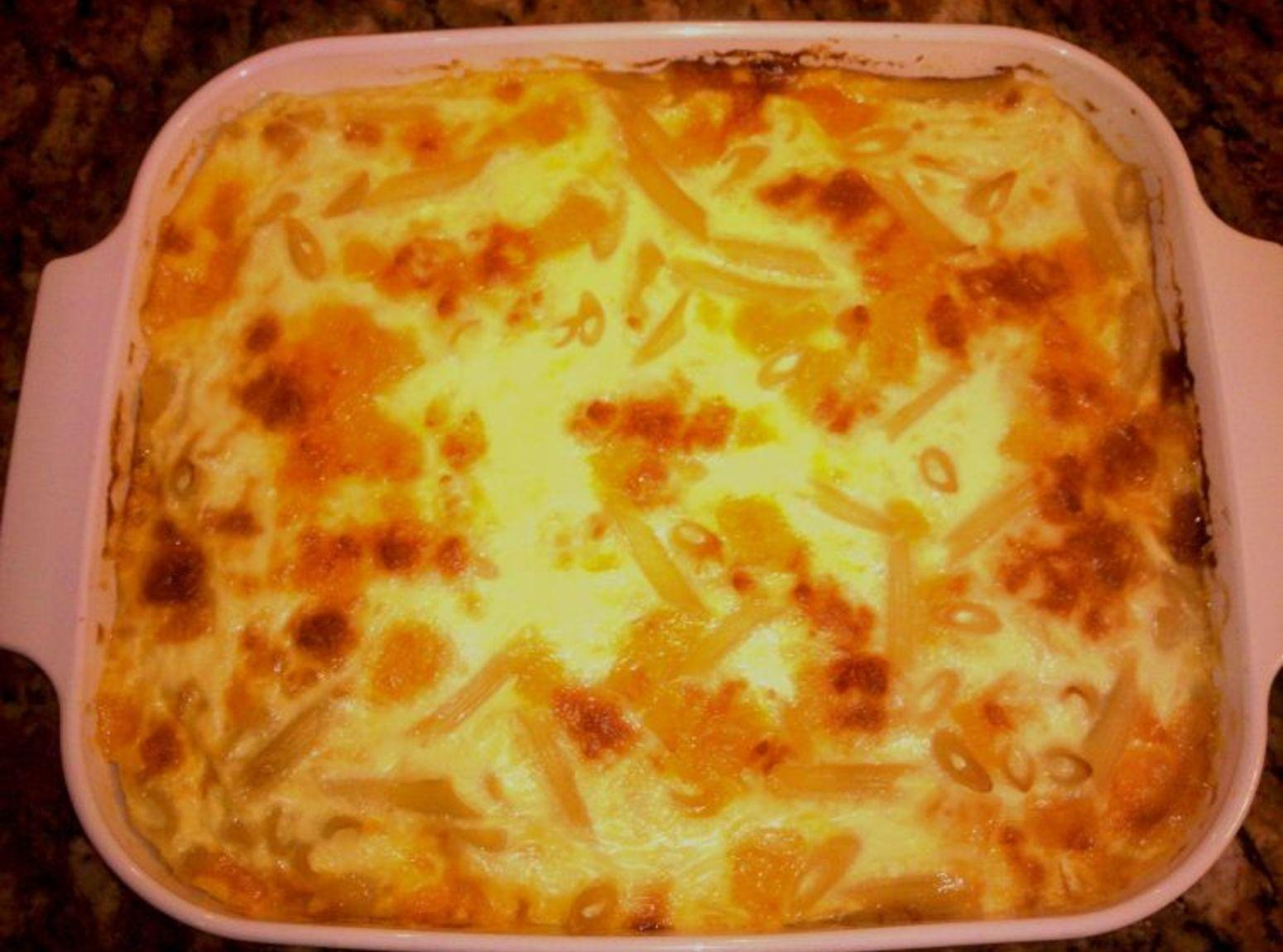 Jane's Baked Macaroni and Cheese Recipe