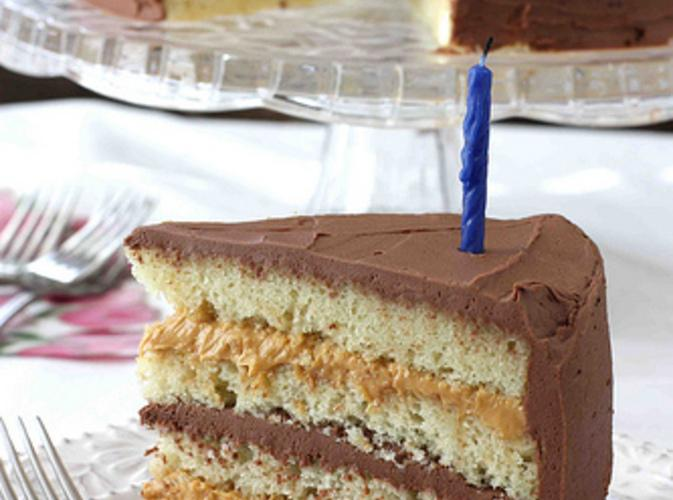 Chocolate & Dulce de Leche Birthday Cake Recipe | Just A ...