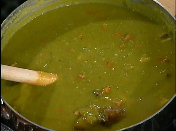 Mom and Dad's Tasty Split Pea Soup Recipe | Just A Pinch Recipes