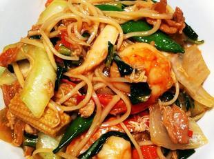 Chicken, Shrimp and Chinese Vegetables Recipe
