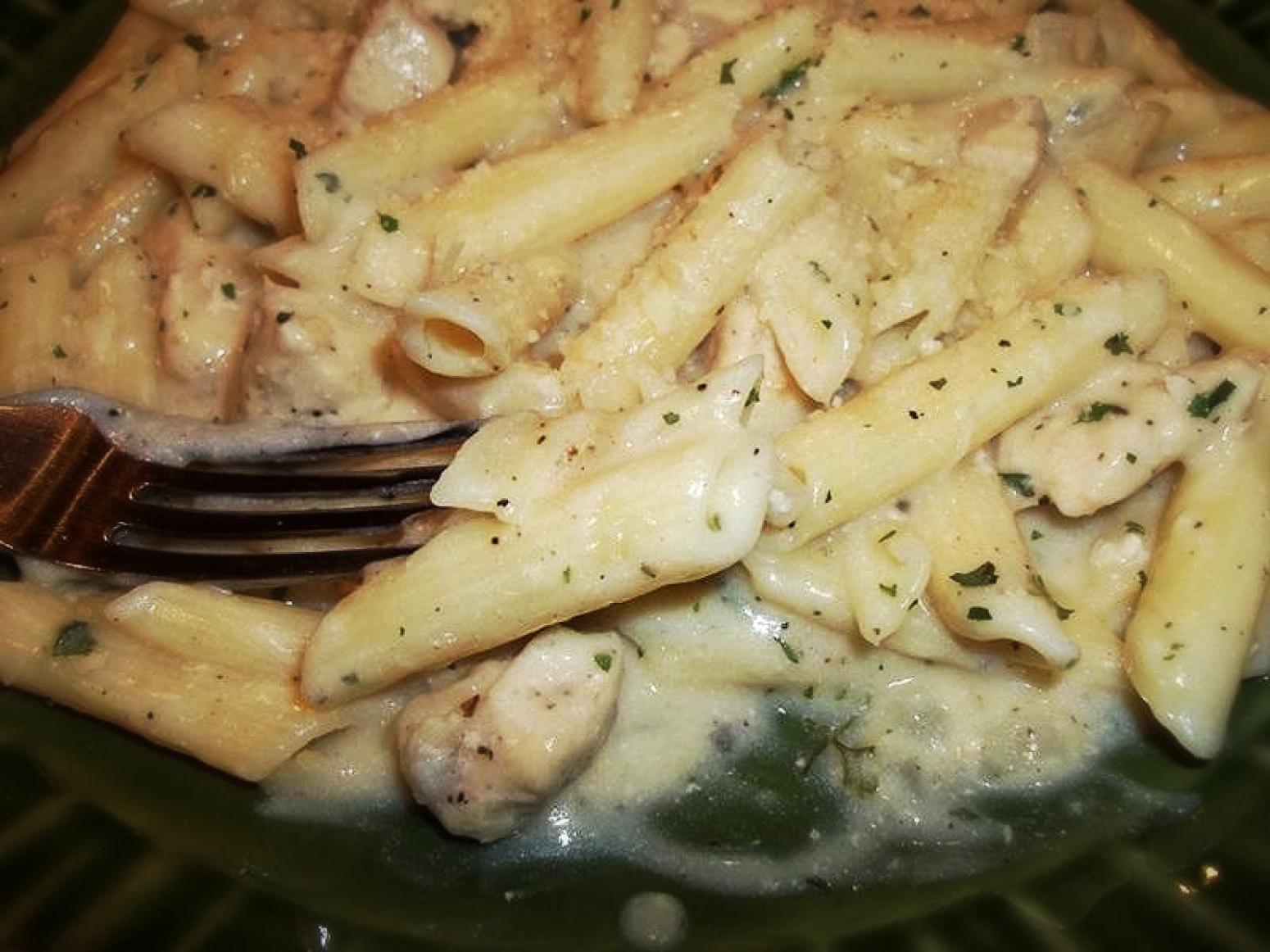 Creamy Chicken Pasta - My Way Recipe   Just A Pinch Recipes