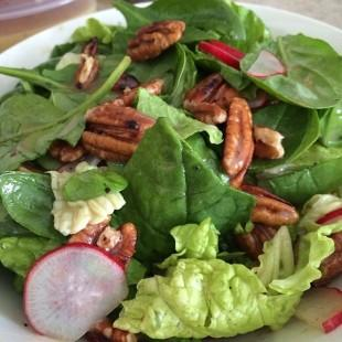 Clean -Eating Lunch Salad w/pecans Recipe
