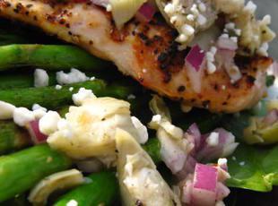 Fireman Bob's Zesty Blue Cheese Chicken Salad Recipe