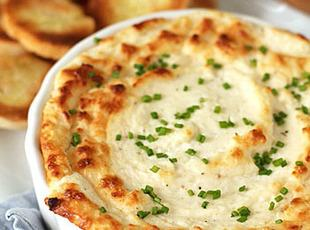 Hot Veggie and Cheese Souffle' Dip Recipe
