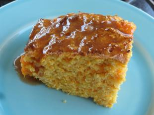 Sweet Potato Corn Bread with Cinnamon Honey Butter Recipe
