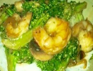 Skinny Shrimp and Broccoli