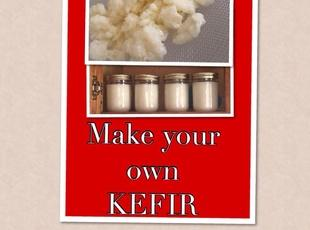 Basic Organic Milk Kefir (useing kefir grains)