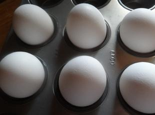 BOILED EGGS IN THE OVEN--BONNIE'S Recipe