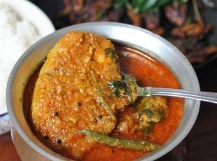 South Indian Style Spicy Cat Fish Curry !!!