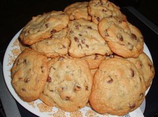 OMG Best Chocolate chip cookies EVER. Recipe