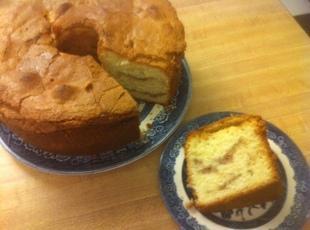 (Strawberry, maybe) Swirl Cream Cheese Pound Cake Recipe