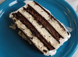 OREO AND FUDGE ICE CREAM CAKE Recipe