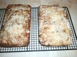 Rhubarb Streusel Cake Recipe
