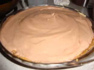Creamy Chocolate Peanut Butter Pie Recipe