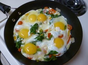 Loaded Eggs (Shakshookah) Recipe