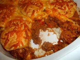 Tasty Beef and Biscuit Bake Recipe