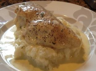 Mozzarella stuffed chicken breasts