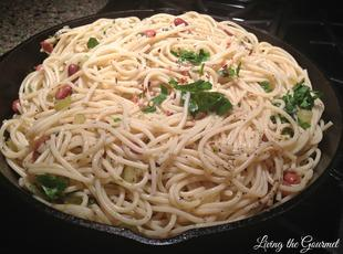 Spaghetti with Beans Recipe