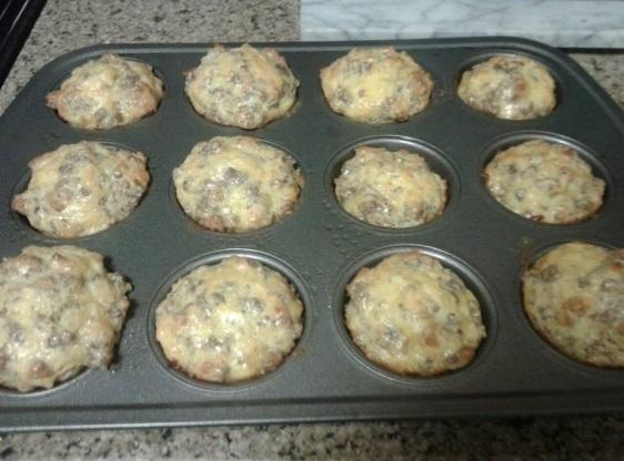 Cheesy Sausage and Egg Muffins Recipe | Just A Pinch Recipes