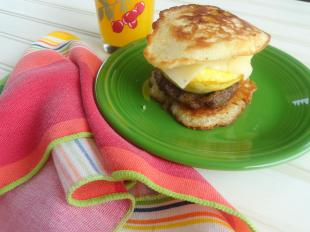 pancake breakfast sandwiches to freeze