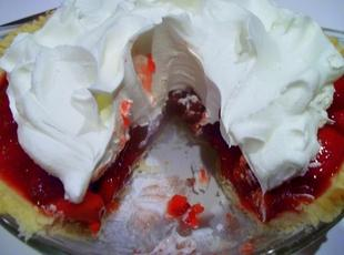 Out Of Season Strawberry Pie