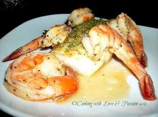 Pan Seared Cod and Shrimp Recipe