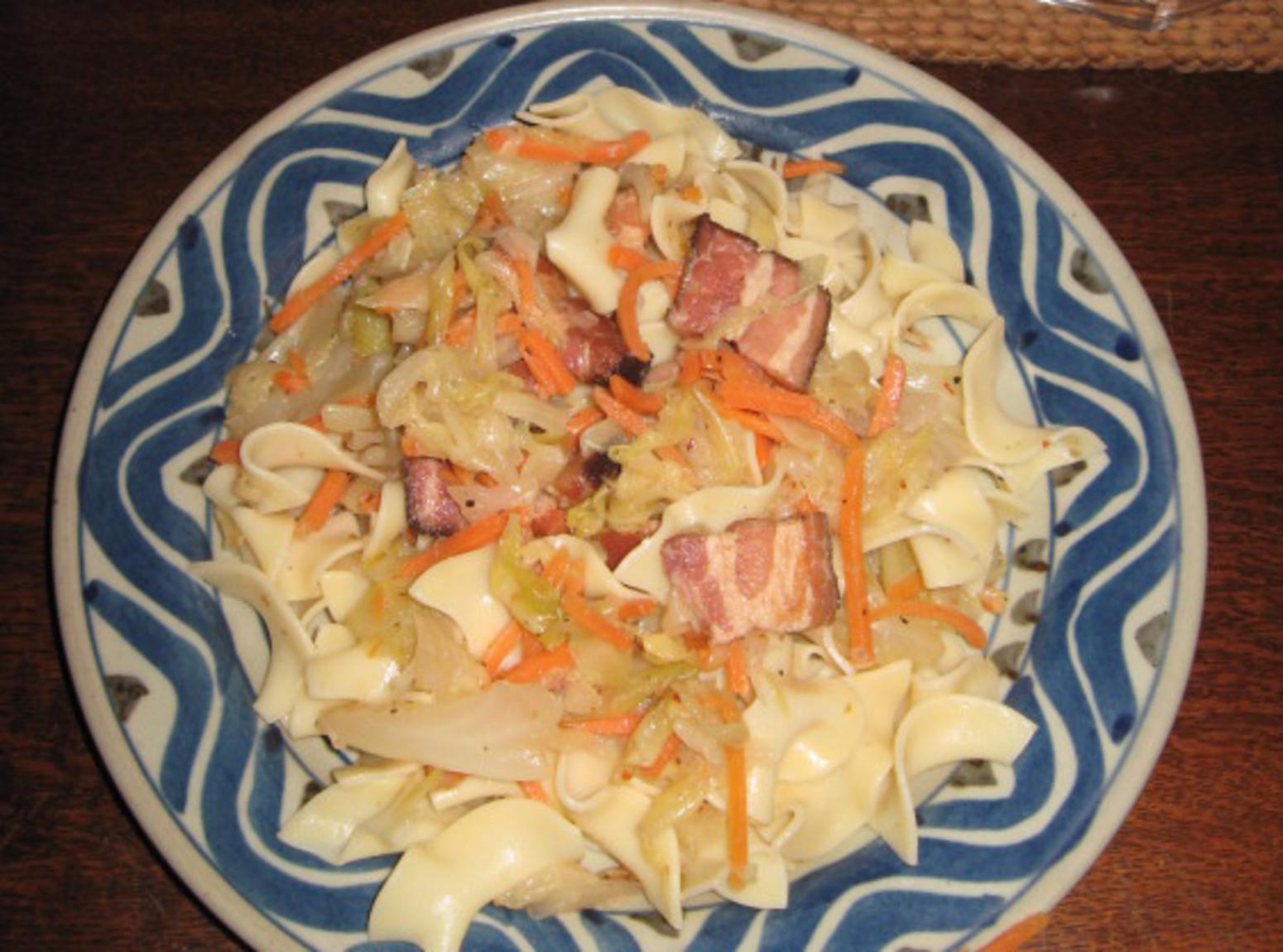 Grandma's Polish Haluski Recipe