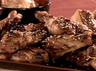 Sandra Lee's Wild Teriyaki Wings Recipe