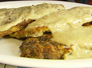 Alton Brown's Chicken Fried Steak Recipe