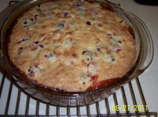 Cranberry Cream Torte Recipe
