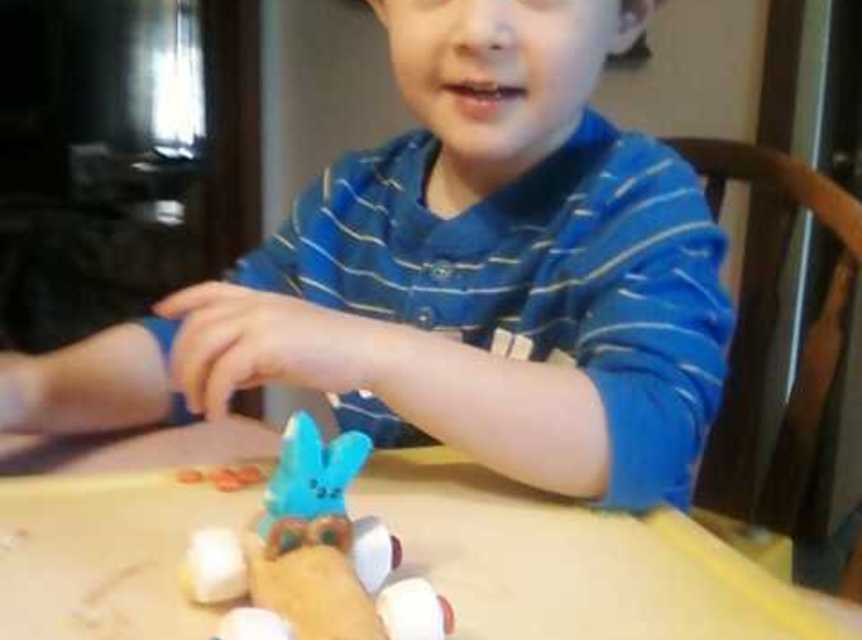 Easter Bunny race cars Recipe
