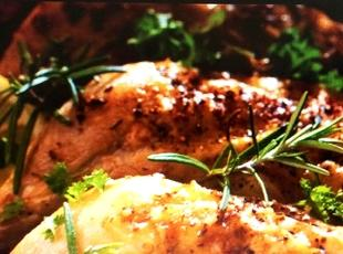 Herb Crusted Baked Chicken Recipe
