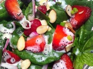 Strawberry Festival Salad Recipe