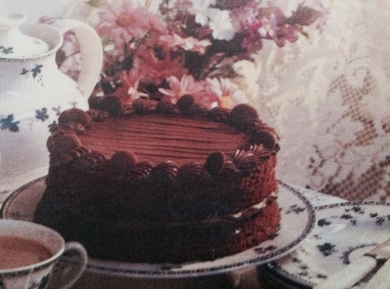 Hot Milk Chocolate Sponge Recipe