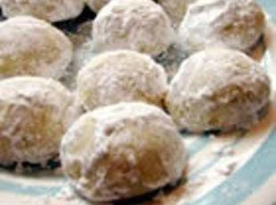 Butterball Cookies or aka Wedding Cookies Recipe