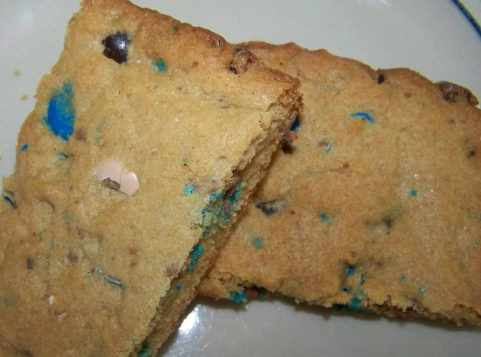 Almond Joy Pieces Blondies Recipe