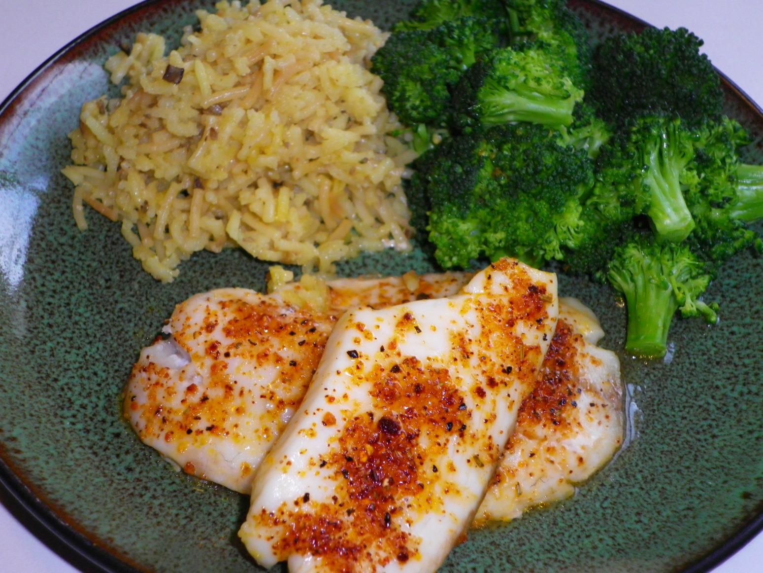 Seasoned tilapia fillets recipe just a pinch recipes for Tilapia fish sticks