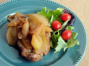 Norma's Pork Chops with Apples
