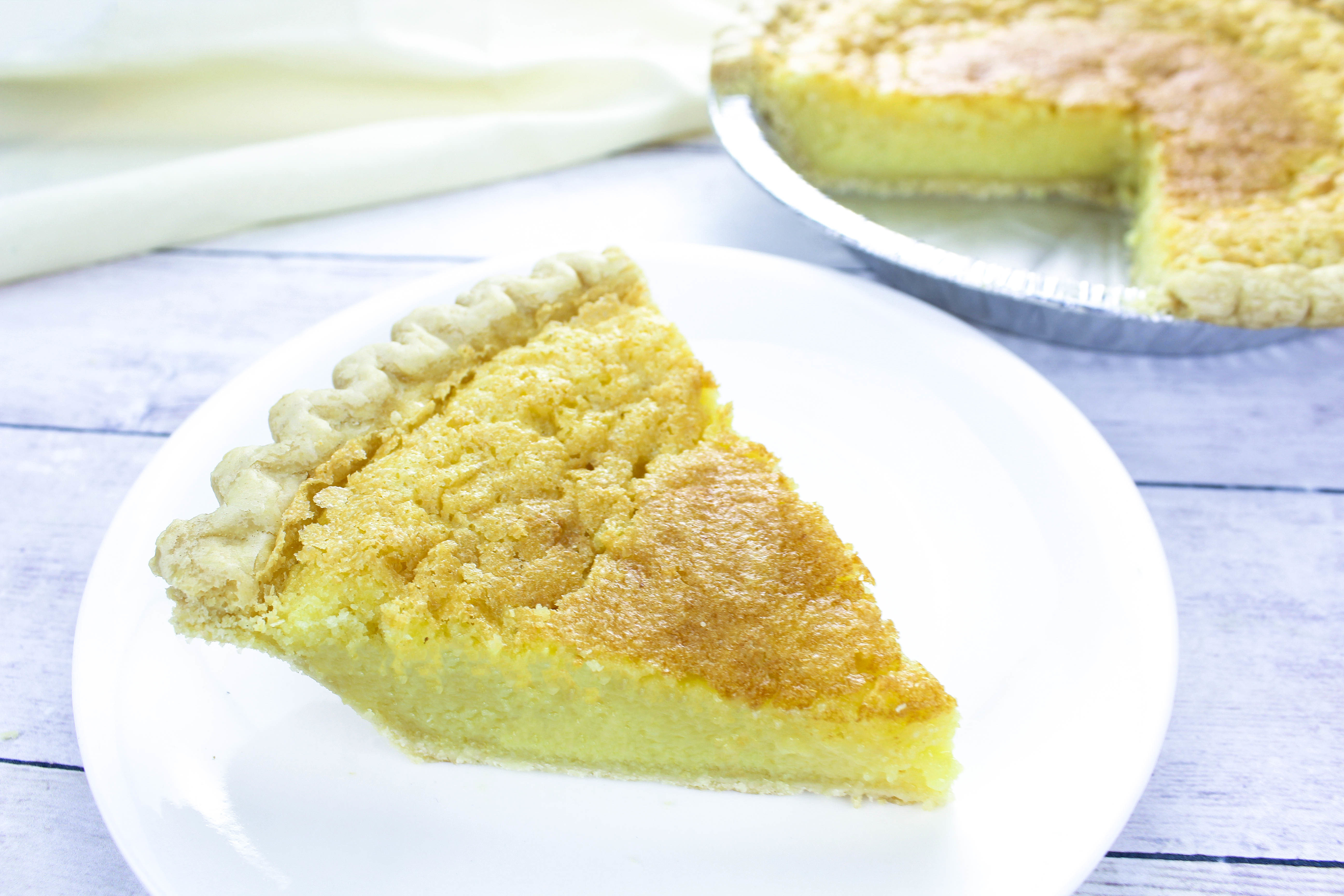 Deep-Dish Buttermilk Chess Pie Recipe