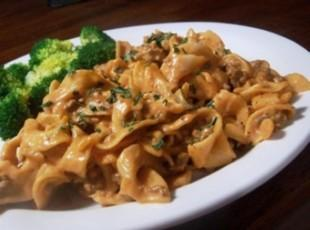 Ground Beef Stroganoff Recipe