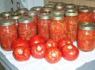 CANNED STEWED TOMATOES Recipe
