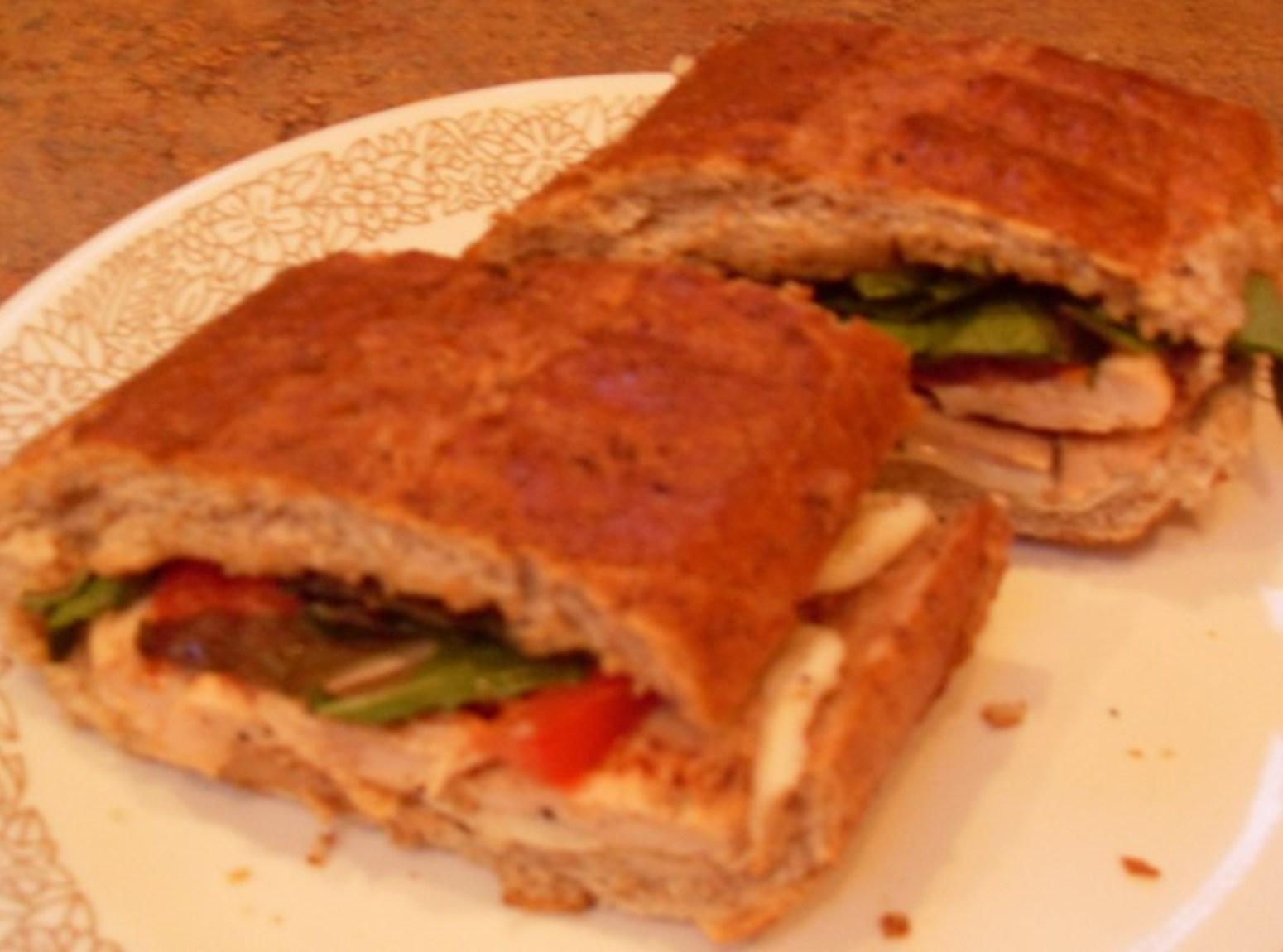 Honey Mustard Chicken Panini Recipe
