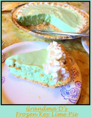 Frozen Key Lime Pie Recipe
