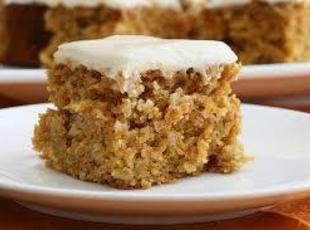 Skinny Carrot Cake Recipe
