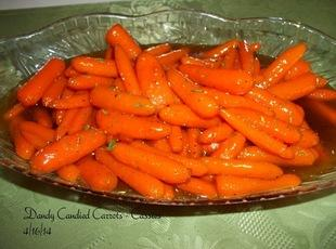 Dandy Candied Carrots - Grams Recipe