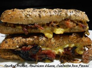 Brisket and Cheese Panni Recipe