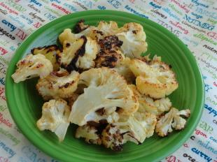Spicy Roasted Cauliflower Recipe