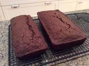 Aunties chocolate zucchini bread Recipe